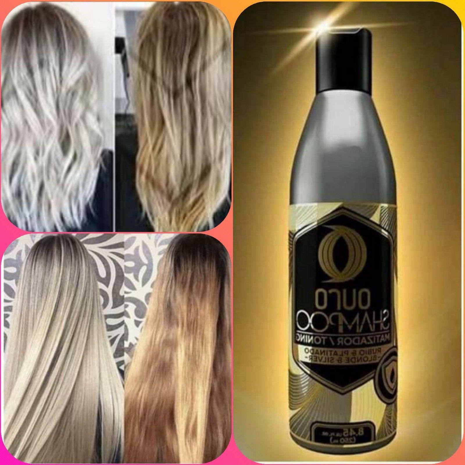 shampoo matizador para cabello rubio platinado o