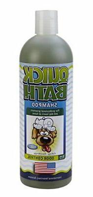 Quick Bath Odor Control Shampoo for Dogs 16 oz