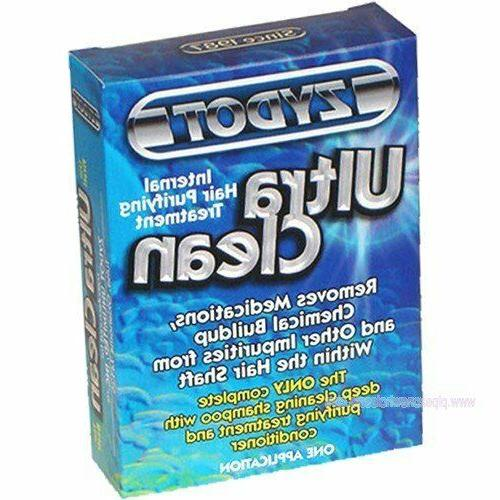shampoo clean ultra hair treatment removes drug