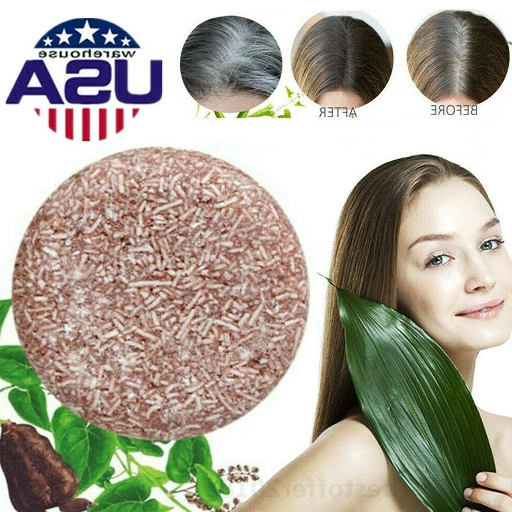Soap Hair Darkening Bar Natural Organic Conditioner US