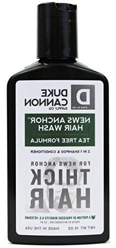 NEW - 10 oz. Duke Cannon Superior Grade Hair Wash - FREE SHI