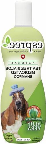 tea tree aloe dog shampoo