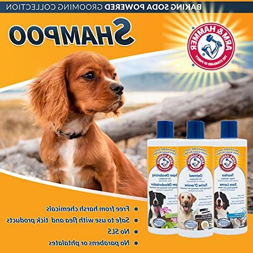 Arm Hammer Tearless Puppy Best Tearless Shampoo Dogs and ounces, Coconut Water