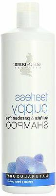 tearless puppy sulfate shampoo