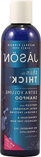 Jason Thin-To-Thick Extra Volume Shampoo 8 oz