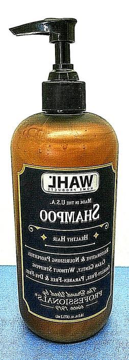 WAHL for men SHAMPOO Healthy Hair 16 oz pump bottle