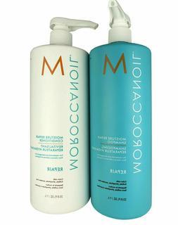 Moroccanoil  Moisture Repair Shampoo & Conditioner  Liter /
