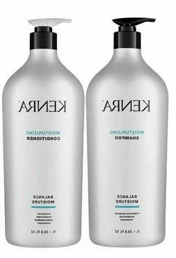 Kenra Moisturizing Shampoo and Conditioner Duo Set, 33.8 oz
