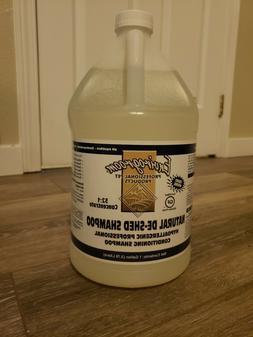 natural de shed shampoo 1 gallon new