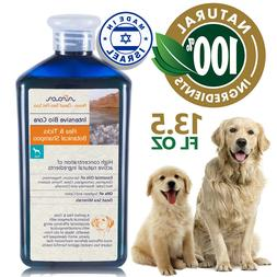 Natural Flea and Tick Shampoo for Dogs & Puppies, Prevention