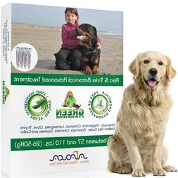 Natural Flea and Tick Prevention Control for Large Dogs up t