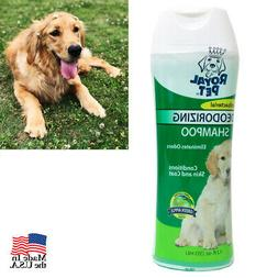 Natural Pet Dogs Shampoo Antibacterial Odor Eliminator 12oz