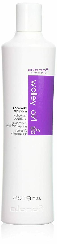 Fanola No Yellow Shampoo Ideal for Grey Super Lightened Hair
