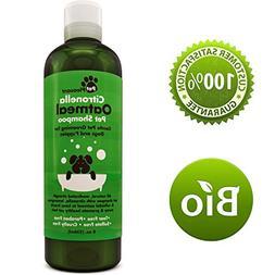 Oatmeal Dog Shampoo with Natural Citronella Bug Repellant Oi