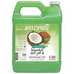 TropiClean Oatmeal & Tea Tree Medicated Dog Shampoo, 1 Gallo