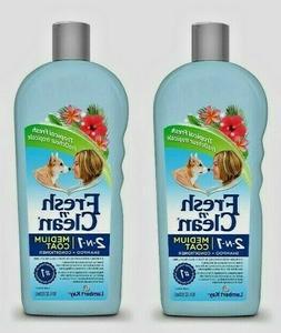 PetAg Fresh'n Clean 2-in-1 MEDIUM COAT Shampoo and Condition