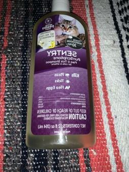 SENTRY PurrScriptions Plus Flea and Tick Shampoo for Cats an