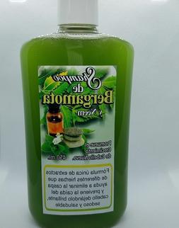 shampoo artesanal de BERGAMOTA, NEEM & herbals 100% NATURAL