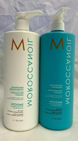 Moroccanoil Smoothing Shampoo & Conditioner Liter / 33.8oz D