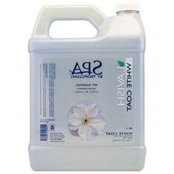 Tropiclean SPA by White Coat Pet Shampoo, 1 Gallon