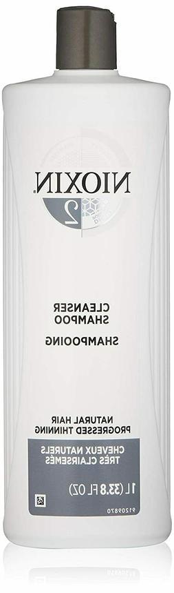 NIOXIN System 2 Hair Thickening Cleanser Shampoo 33.8oz / Li