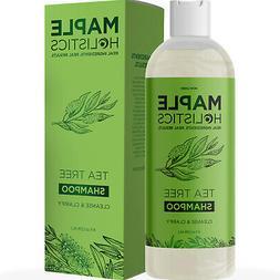 Maple Holistics Anti Dandruff Shampoo with Tea Tree Oil, 8oz