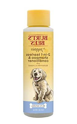 Burt's Bees for Dogs All-Natural Tearless 2 in 1 Shampoo and