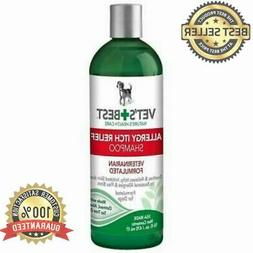 Vet's Best Allergy Itch Relief Dog Shampoo Cleans and Reliev