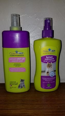 FURminator Waterless Kitten Shampoo or Hairball Prevention S