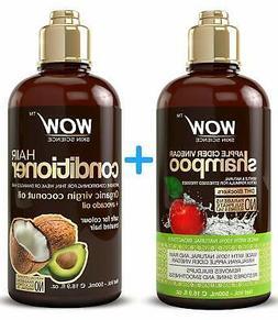 WOW Apple Cider Vinegar Shampoo & Hair Conditioner Set - Inc